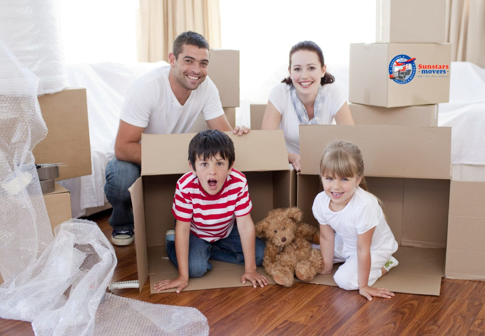 Best Local movers in Ajman at Sunstars movers