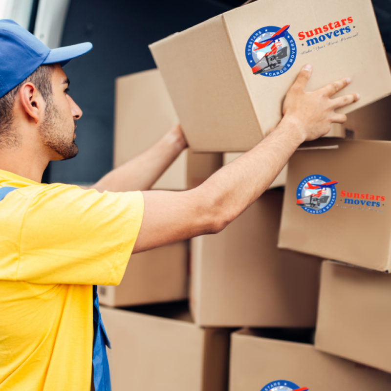 moving companies in UAE at sunstars movers