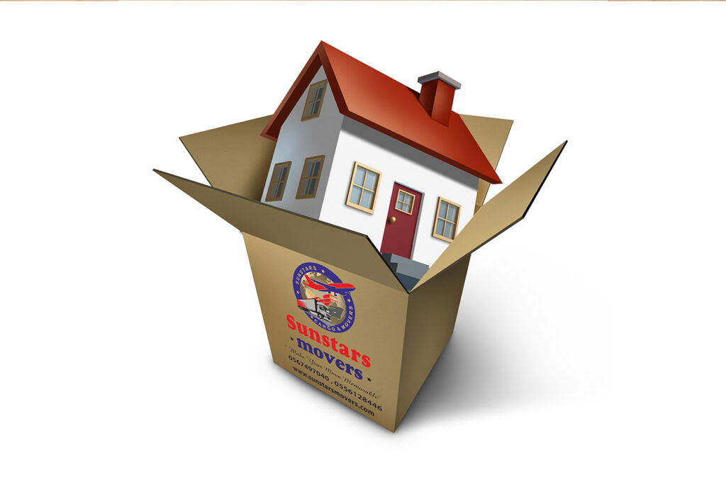 Residential moving service in Dubai
